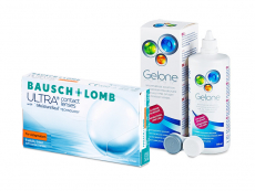 Bausch + Lomb ULTRA for Astigmatism (6 lentes) + Solução Gelone 360 ml
