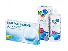 Bausch + Lomb ULTRA for Presbyopia (6 lentes) + Solução Gelone 360 ml