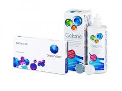 Biofinity XR (3 lentes) + Solução Gelone 360 ml