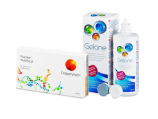 Proclear Multifocal (6 lentes) + Solução Gelone 360 ml