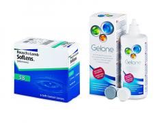 SofLens 38 (6 lentes) + Solução Gelone 360 ml