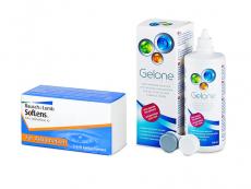 SofLens Toric (3 lentes) + Solução Gelone 360 ml