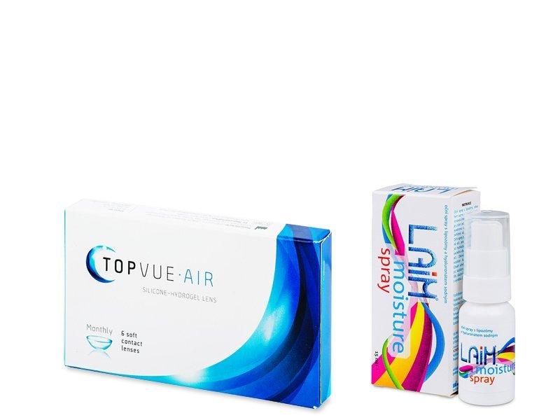 TopVue Air (6 lenses) + Laim Moisture spray