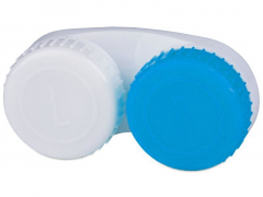 Estojo Azul e Branco L+R