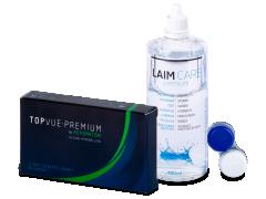 TopVue Premium for Astigmatism (3lentes) +SoluçãoLaim-Care 400ml