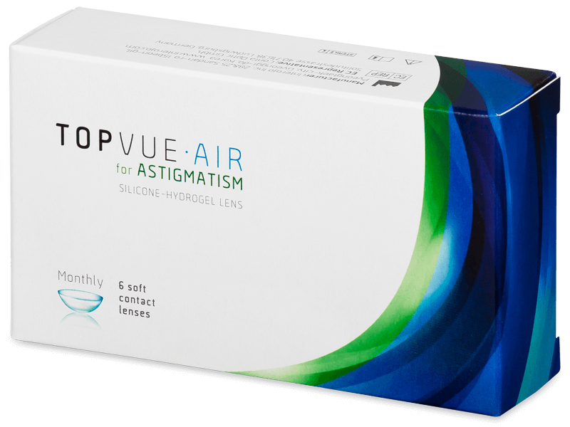 TopVue Air for Astigmatism (6lentes)