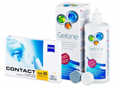 Carl Zeiss Contact Day 30 Spheric (6 lentes) + Gelone 360 ml