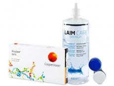 Proclear Toric XR (6 lentes) +Solução Laim-Care 400 ml