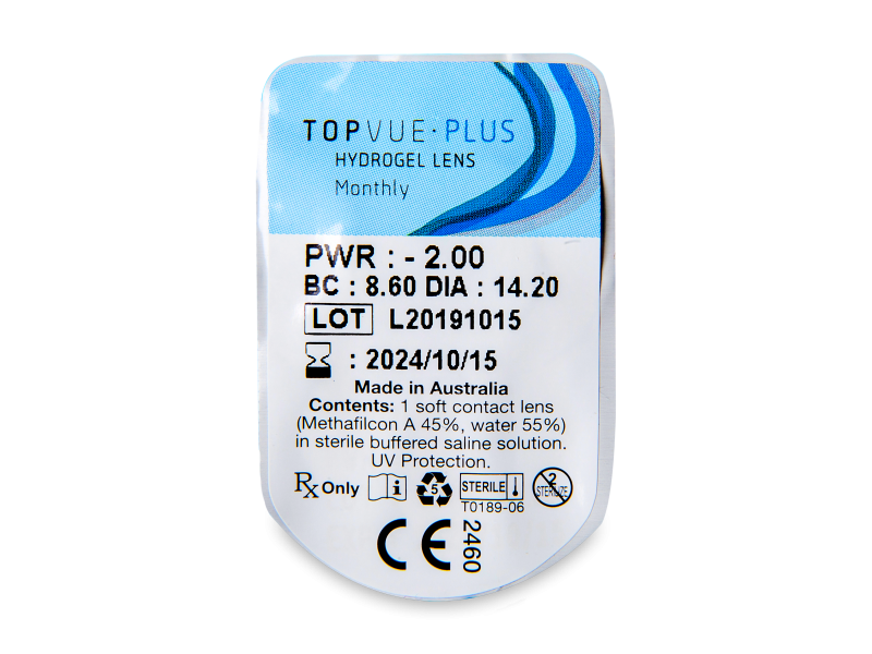 TopVue Monthly Plus (6 lentes)