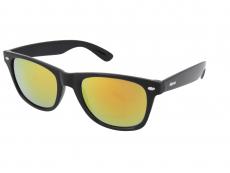 Óculos de Sol Alensa Sport Black Orange Mirror