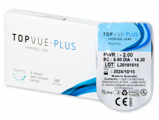TopVue Monthly Plus (1 lente)