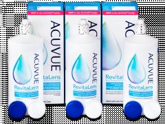 Solução Acuvue RevitaLens 3x 360 ml
