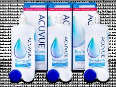 Solução Acuvue RevitaLens 3x 300 ml