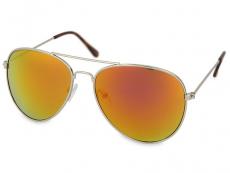 Óculos de sol pilot - Rosa/Laranja