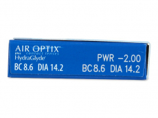Air Optix plus HydraGlyde (3 lentes)