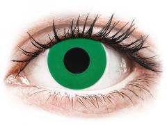 CRAZY LENS - Emerald Green - Diárias com correção (2 lentes)