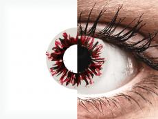 CRAZY LENS - Harlequin Black - Diárias sem correção (2 lentes)