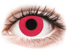 CRAZY LENS - Solid Red - Diárias com correção (2 lentes)