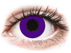 CRAZY LENS - Solid Violet - Diárias com correção (2 lentes)