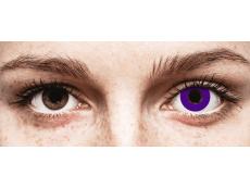 CRAZY LENS - Solid Violet - Diárias sem correção (2 lentes)