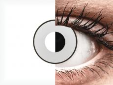 CRAZY LENS - White Black - Diárias sem correção (2 lentes)