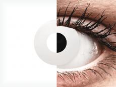 CRAZY LENS - WhiteOut - Diárias sem correção (2 lentes)