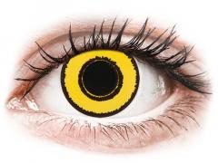 CRAZY LENS - Yellow Twilight - Diárias com correção (2 lentes)