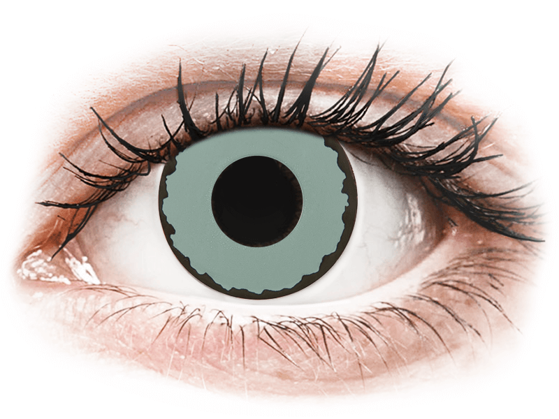 CRAZY LENS - Zombie Virus - Diárias sem correção (2 lentes)