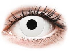 CRAZY LENS - WhiteOut - Diárias com correção (2 lentes)