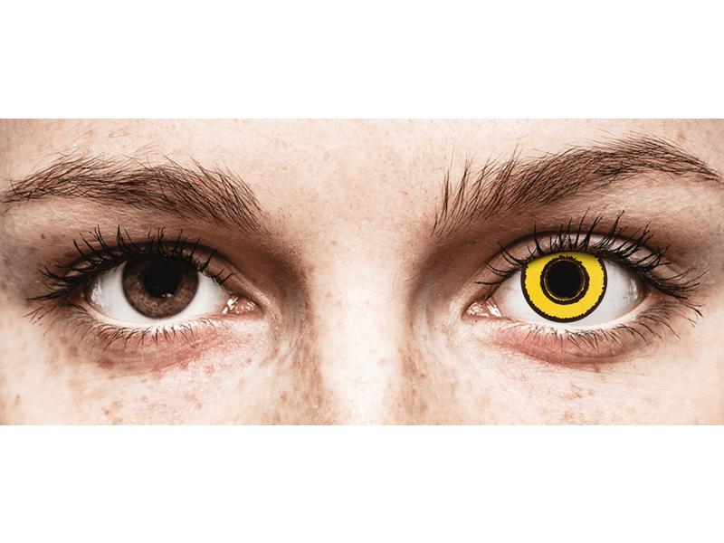 CRAZY LENS - Yellow Twilight - Diárias sem correção (2 lentes)