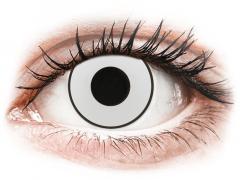 CRAZY LENS - White Black - Diárias com correção (2 lentes)