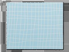 Pano para Limpeza de Óculos - Azul Claro com Rede Branca