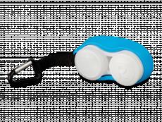 Estojo para lentes com mosquetão - Azul