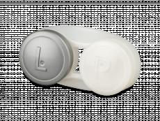 Estojo antibacteriano para lentes - Cinza
