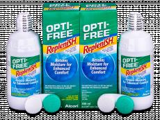OPTI-FREE RepleniSH Solução 2x300ml