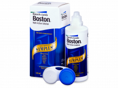 Solução para Lentes Rígidas Multi Simplus Boston 120 ml