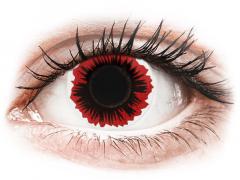 Lentes de Contacto Crazy Lens Vermelho Blaze - ColourVUE (2 lentes)