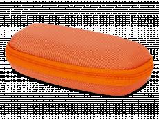 Caixa de óculos zip up para criança - laranja