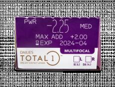Dailies TOTAL1 Multifocal (30 lentes)