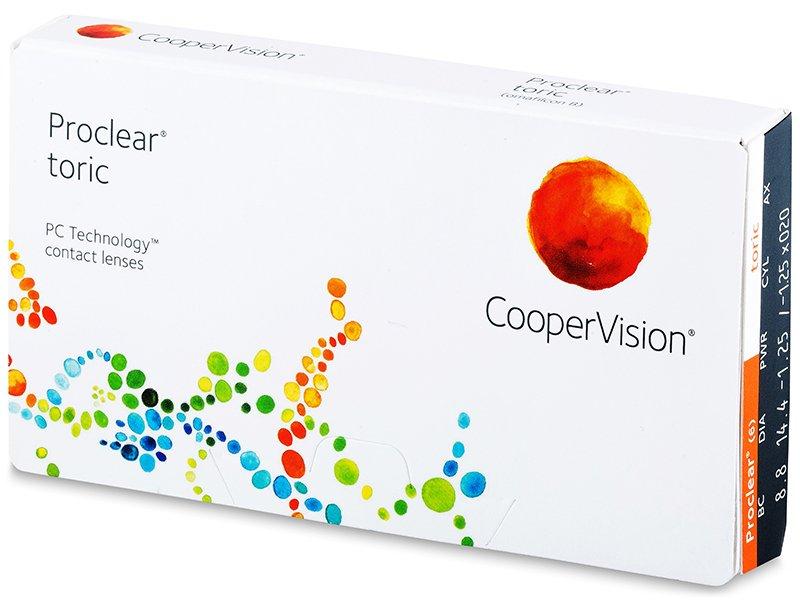 Proclear Toric (3 lentes)