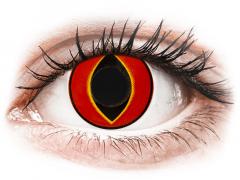 Lentes de Contacto Crazy Lens Vermelho Mad Frog - ColourVUE (2 lentes)