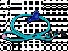 Cordão para óculos em azul - golfinho