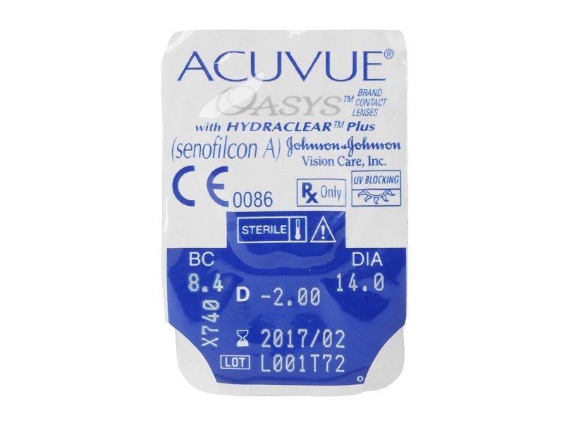Acuvue Oasys (6lentes)