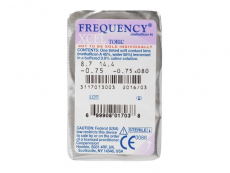 FREQUENCY XCEL TORIC (3lentes)