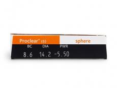 Proclear Sphere (6lentes)