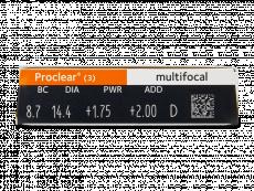 Proclear Multifocal (3lentes)