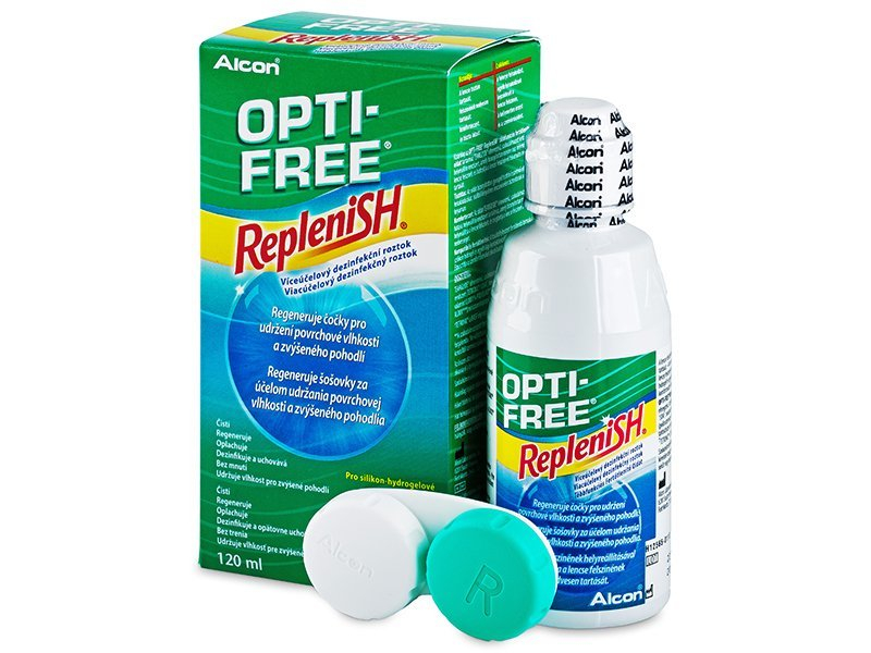 OPTI-FREE RepleniSH Solução 120ml
