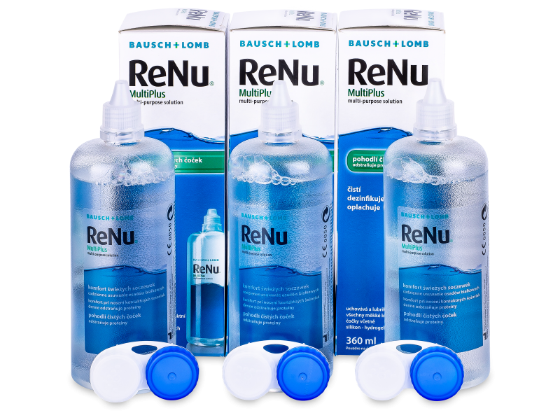 ReNu MultiPlus Solução 3x360ml
