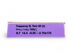 FREQUENCY XCEL TORIC XR (3lentes)