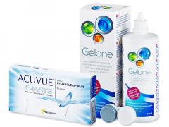 Acuvue Oasys (6lentes) +Solução Gelone360ml